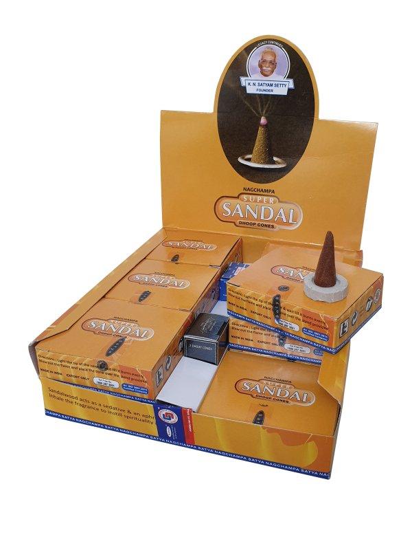 Wierookpuntjes Satya Super Sandal per 12