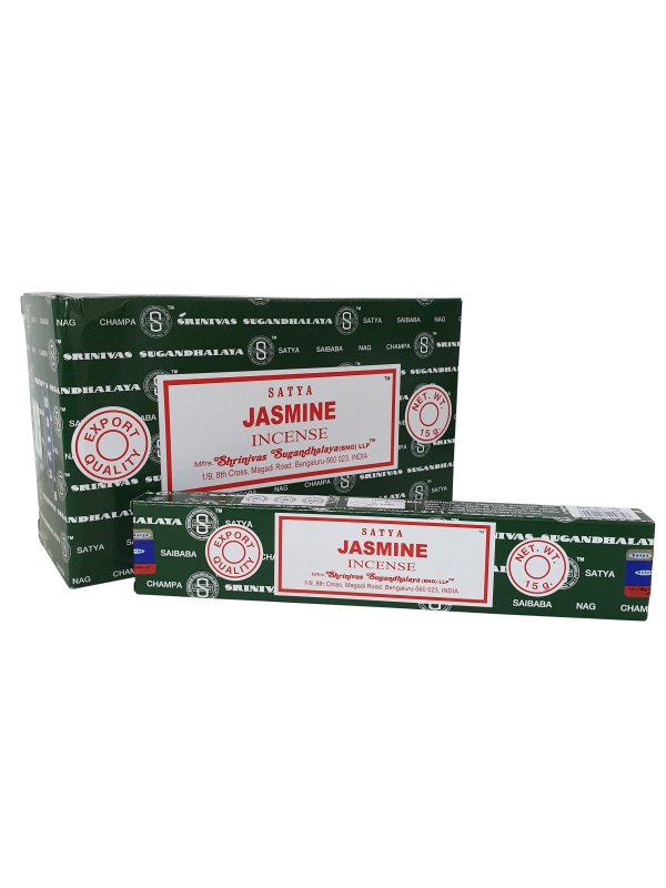 Wierookstokjes Satya Jasmine per 12
