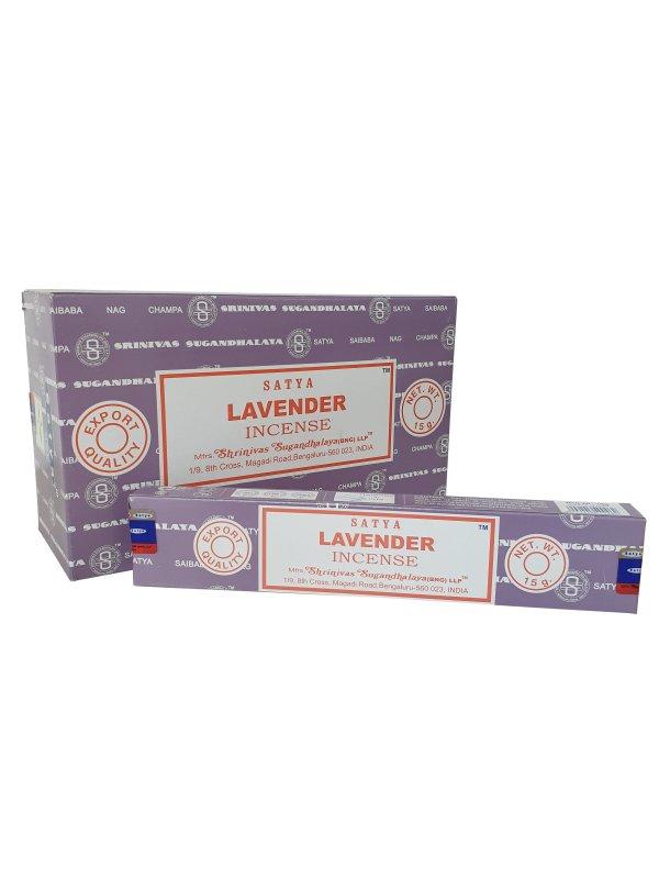 Wierookstokjes Satya Lavendel per 12