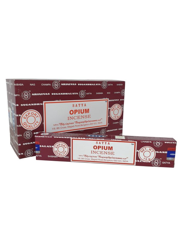 Wierookstokjes Satya Opium per 12