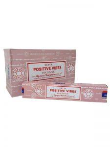 Wierookstokjes Satya Positive Vibes per 12