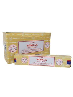Wierookstokjes Satya Vanilla per 12