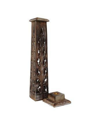 Wierookhouder toren detail