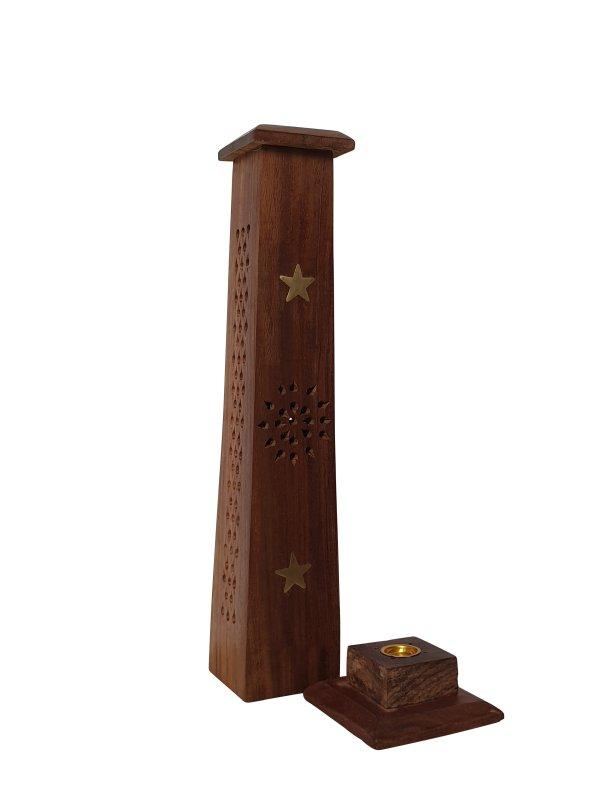 Wierookhouder toren met ster detail