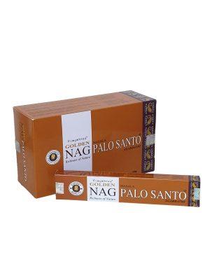Wierookstokjes Golden Nag Palo Santo verpakt per 12