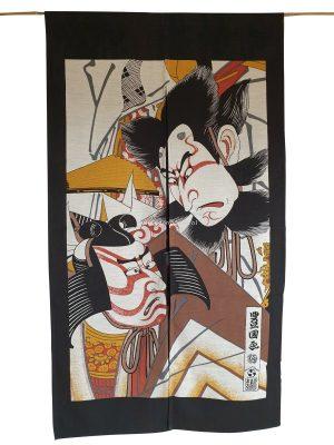 Japans deurgordijn (originele Noren) Kabuki