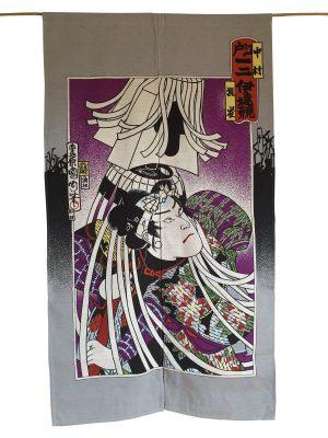 Japans deurgordijn (originele Noren) Matoi