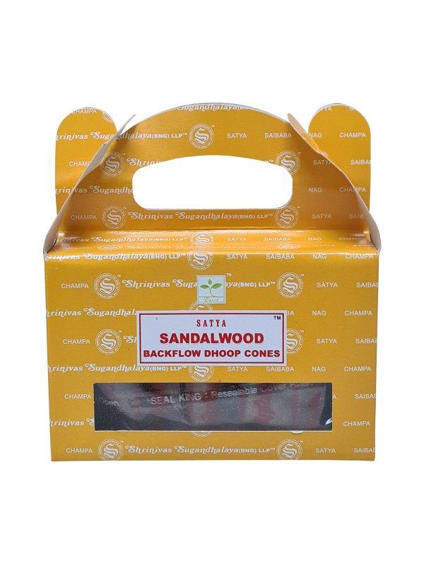 Backflow wierookkegeltjes Satya Sandalwood
