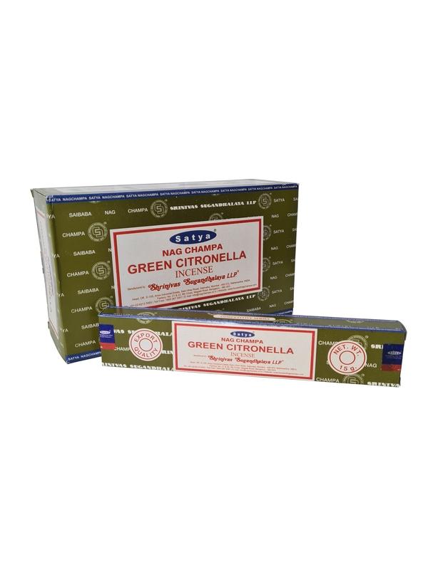 Wierookstokjes Satya Green Citronella per 12
