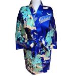 Japanse korte kimono blauw