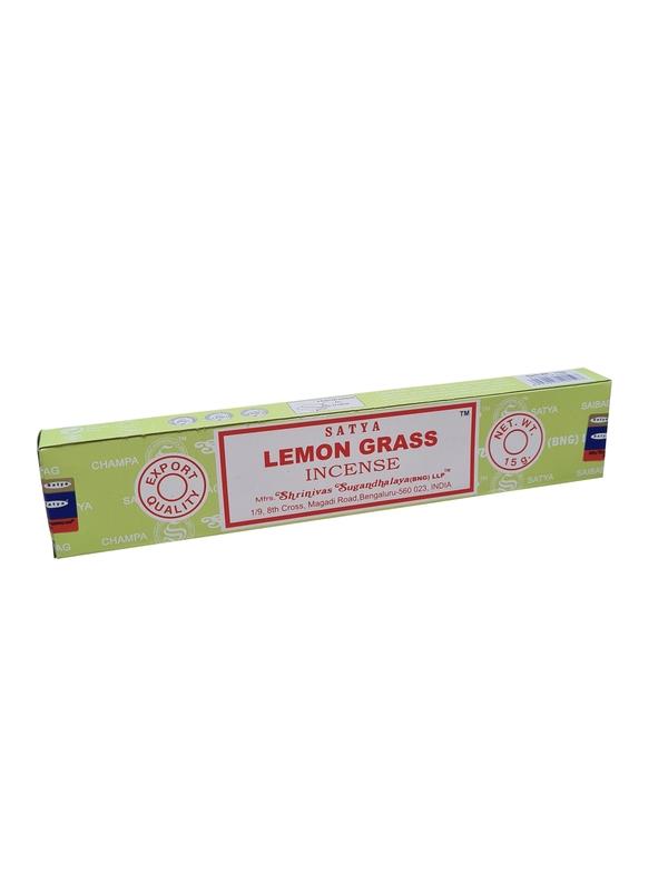 Wierookstokjes Satya Lemongrass Earth
