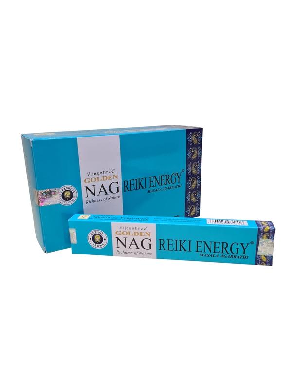 Wierookstokjes Golden Nag Reiki Energy per 12