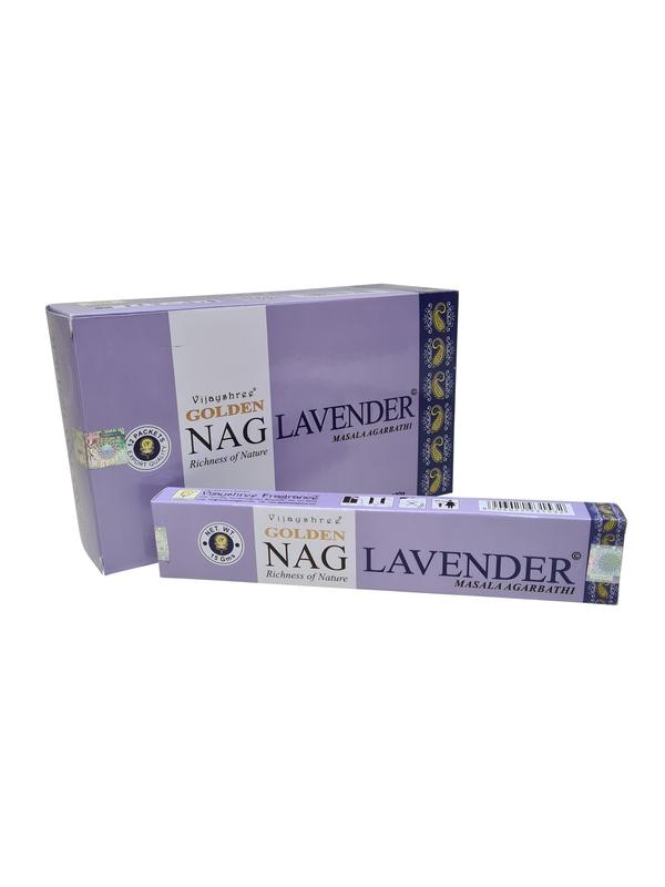 Wierookstokjes Golden Nag Lavender per 12