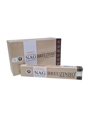 Wierookstokjes Golden Nag Breuzinho per 12