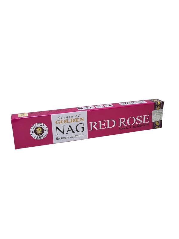 Wierookstokjes Golden Nag Red Rose